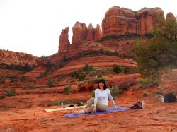 –Yoshi, Japan Sedona red rock yoga tour