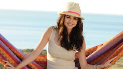 Selena Gomez With Hat