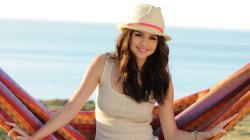 Selena Gomez With Hat