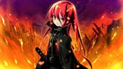 ... Shakugan no Shana - Shana by Justass