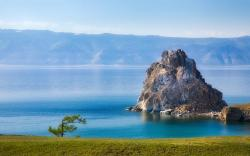 Shaman rock olchon island