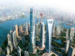 ... Shanghai's tradition of parks and neighborhoods, recast in high-density urban form. Its curved façade and spiraling form symbolize the emergence of ...