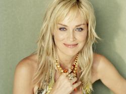 Sharon Stone Beauty Blode Actress Wallpaper HD #lkh45