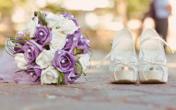 Shoes Rings Bouquet