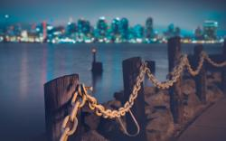 Shore chains city skyline Wallpapers Pictures Photos Images · «