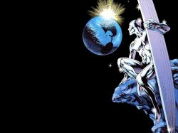 silver surfer full hd wallpaper