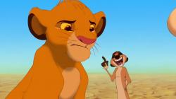 Simba and Timon - The Lion King wallpaper