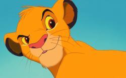 Simba The Lion King Animated Cartoon