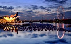 Singapore wishing spheres