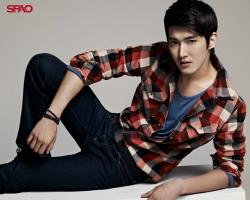 Siwon SPAO - si-won Wallpaper