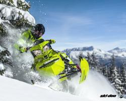 2015 Ski-Doo Freeride 154 | Action
