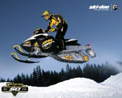 ... Bombardier Ski-Doo MX Z-REV snowmobile is featured in the new James Bond