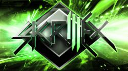 Skrillex Wallpaper Green by SpatchDesigns