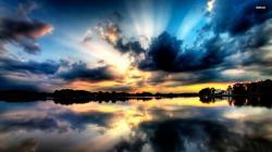 ... Cloudy sky wallpaper 1920x1080 ...