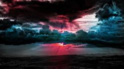 Image for sky wallpapers sky digital wallpaper art filled colorful cloud wallpapers wallpaper 41915