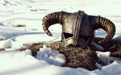 Skyrim game helmet