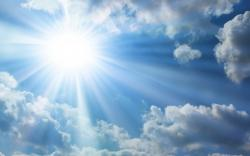 Sky With Sun Wallpaper High Definition 6