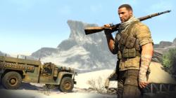 "Rebellion says it has also started work on multiplayer DLC for Sniper Elite III, and explained that a ""small part"" of the game's 10GB day-one patch is ..."