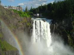 Snoqualmie Falls is featured notably in Twin Peaks