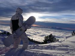 Cool Snowboarding Wallpaper
