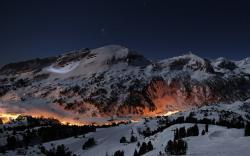 Lighted Mountain
