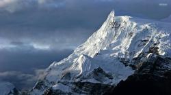 Snowy mountains wallpaper 1920x1080