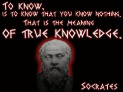Socrates - The Test Of ThreeSocrates - To know, is to know that you know