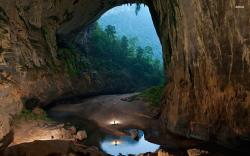 Son Doong Cave Nature Wallpaper