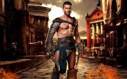 Spartacus Crixus style Roman Gladiator leathor armor