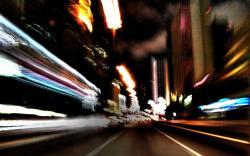 Speed Blur Wallpaper
