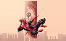 Spider-Man Mary Jane Watson Artwork