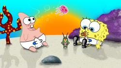 Baby SpongeBob SquarePants wallpaper