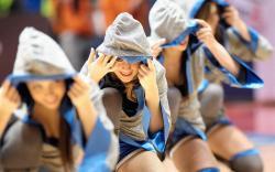Sport Girls Smile Dance