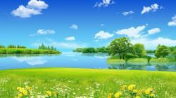 spring landscape full wallpapers for desktop free