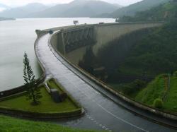 Victoria Dam in 2009.
