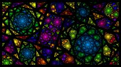 Fractal Stained Glass by bluejewel24 Fractal Stained Glass by bluejewel24