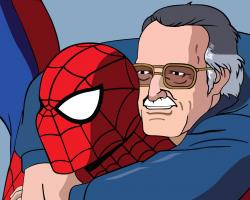 Spider-man and Stan Lee by Mobius-One ...