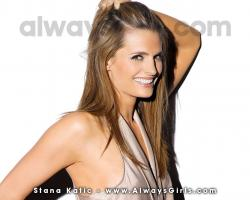 "Stana Katic Wallpaper - Right click your mouse and choose ""Set As Background"" to"