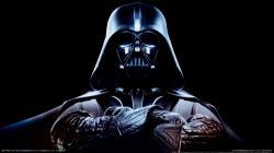 Skeptical Darth Vader is skeptical