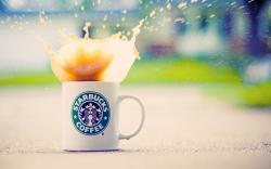 Starbucks Coffee Splash Drops Mood