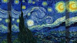 Pics for Gt Vincent Van Gogh Starry Night Wallpaper