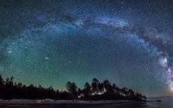 Download Starry Galactic Sky wallpaper