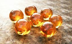 Stars glass spheres