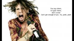 Steven Tyler - It Feels So Good (HD) - LYRICS