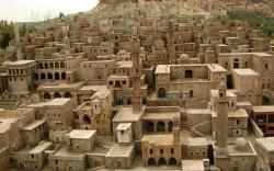Stone houses mardin turkey