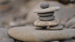 Stone Figurines Wallpaper