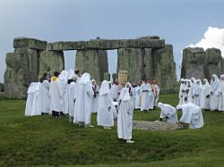 Druids at Stonehenge