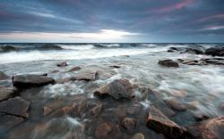 Stony Beach Waves