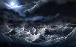 Sea Storm Wallpaper 1920x1080 Sea, Storm ...
