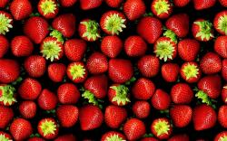 Pile Of Fresh Strawberries Background Wallpaper and Photo Download